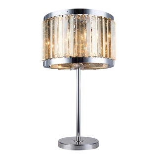 Crystal-Bars Table Lamp/Pendant Convert