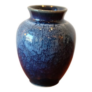 Vintage Japanese Studio Pottery Ceramic Vessel