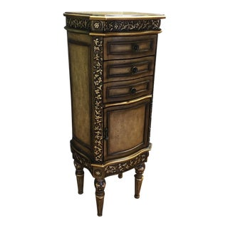Traditional Wooden Jewelry Armoire