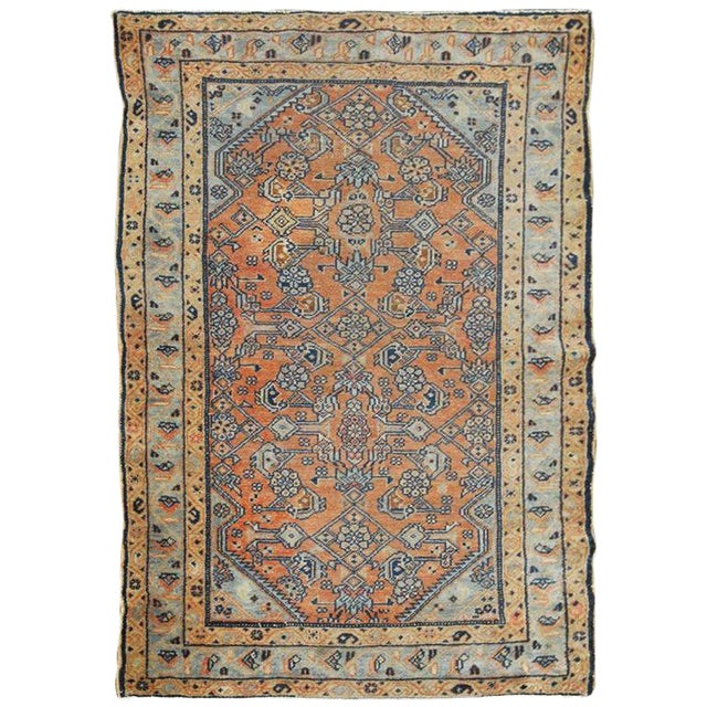 Persian Tribal Rugs: Antique Persian Tribal Style Hamadan Rug
