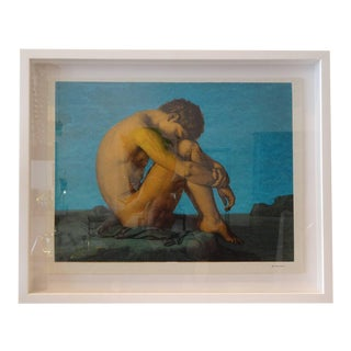 """Pensive"" Lithograph by Tiber Press"