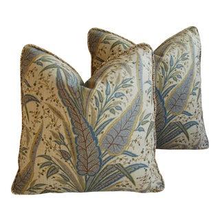 Cowtan & Tout Victoria Paisley Down & Feather Pillows - Pair