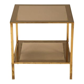 Vintage French Forties Design Two-Tier Side Table