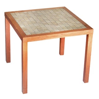 Tile-Top Side Table