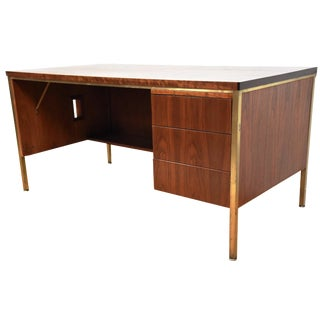 Walnut Executive Desk