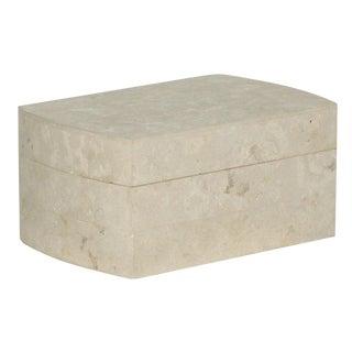 Limestone Wrapped Jewelry Box
