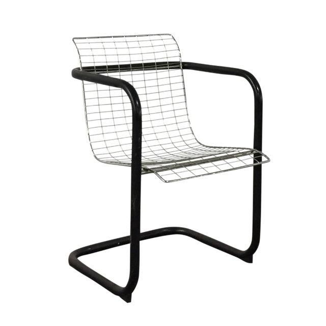 Modern Metal Industrial Chair - Image 1 of 6