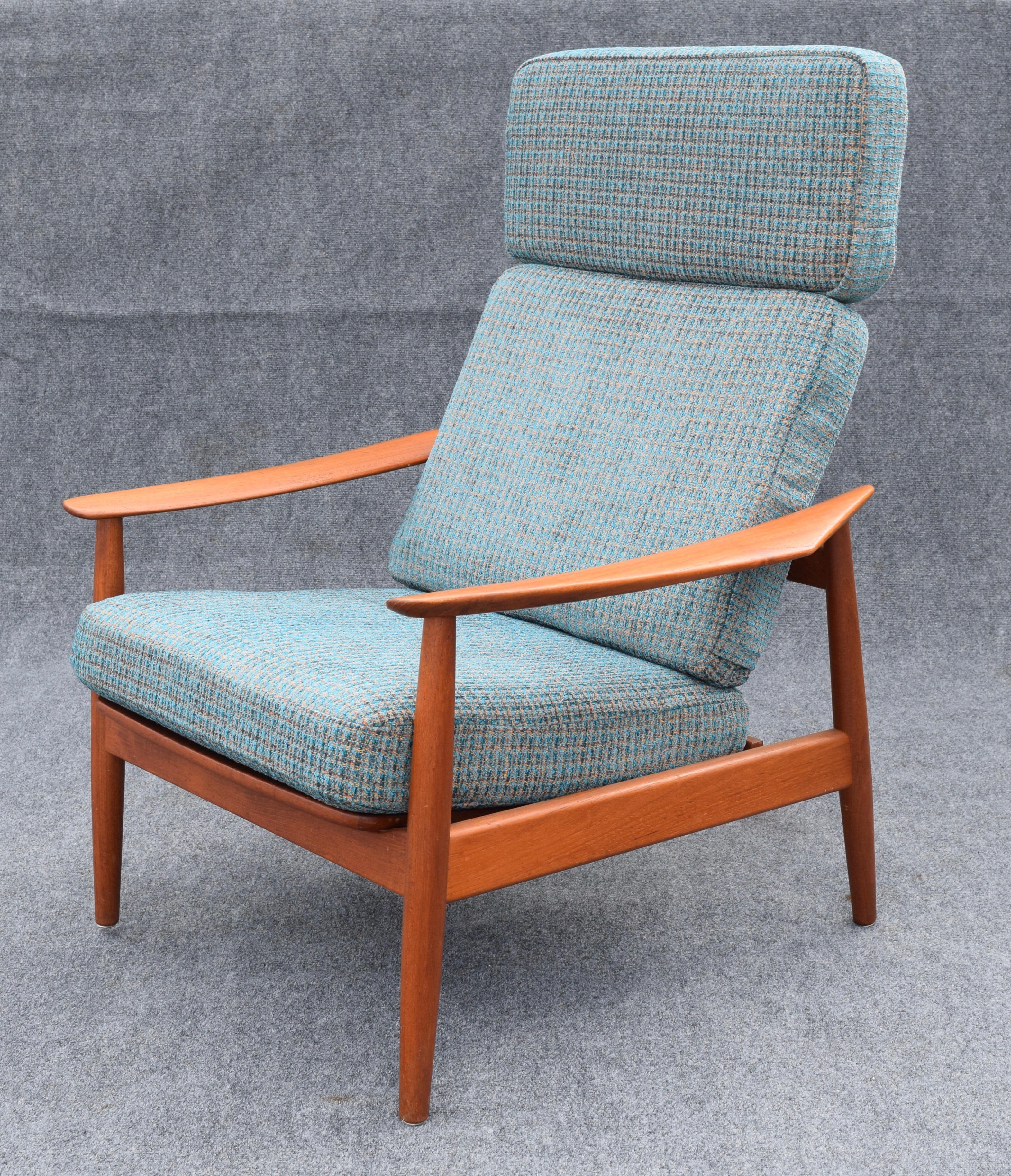 Vintage Arne Vodder for Cado Danish Modern Teak Recliner Chair - Image 2 of 10  sc 1 st  Chairish & Vintage Arne Vodder for Cado Danish Modern Teak Recliner Chair ... islam-shia.org