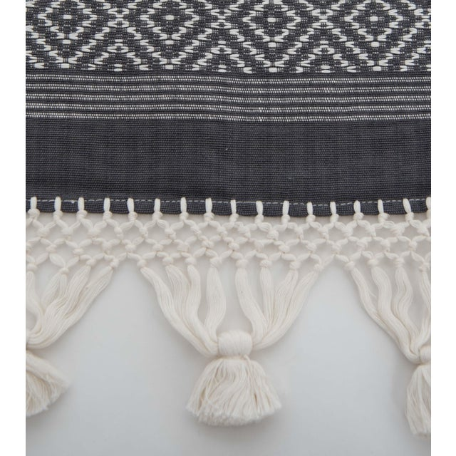 Mexican Grey Blanket - Image 2 of 3