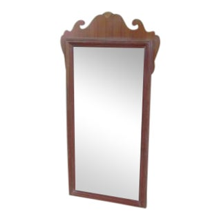 Chippendale French Carved Petite Wall Mirror