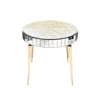 CF Modern Custom Baguette Edge Stiletto End Table