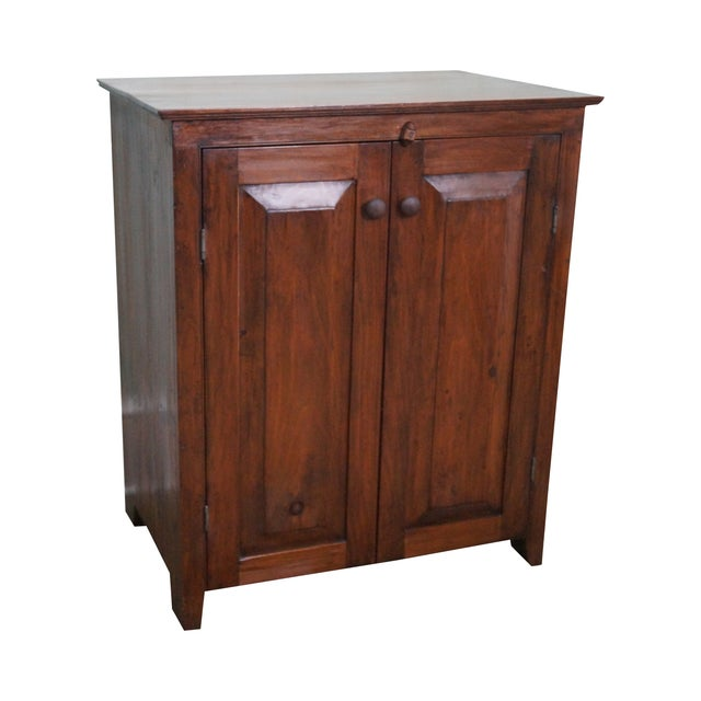 CG Derstine Bucks County Hand Crafted Pine Cabinet - Image 1 of 10