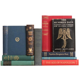 The Life of Napoleon Books - Set of 10