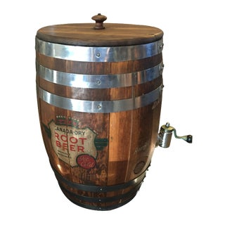 Canada Dry Root Beer Barrel