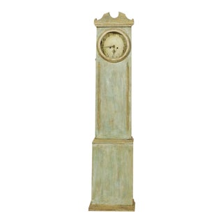 Swedish Painted Clock with Linear Profile, circa 1820