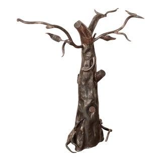 Brutalist Tree Sculpture Table Base