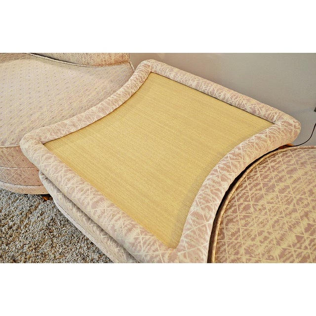 Mid century atomic era 3 piece sectional sofa chairish for Mid century 3 piece sectional sofa