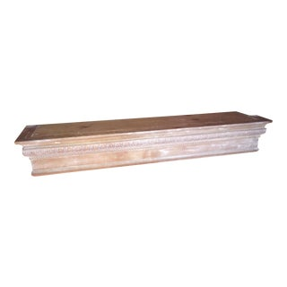Early American Pine Mantel Piece