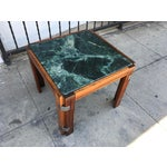 Image of Verde Green Marble Top Side Table