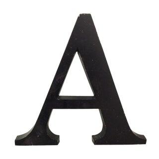 """Aluminum Letter """"A"""""""
