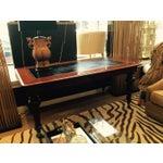 Image of Mahogany & Leather Ralph Lauren Desk