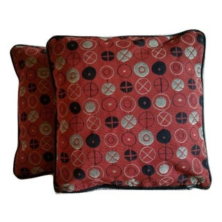 Maharam Circles by Ray & Charles Eames Pillow Covers - A Pair