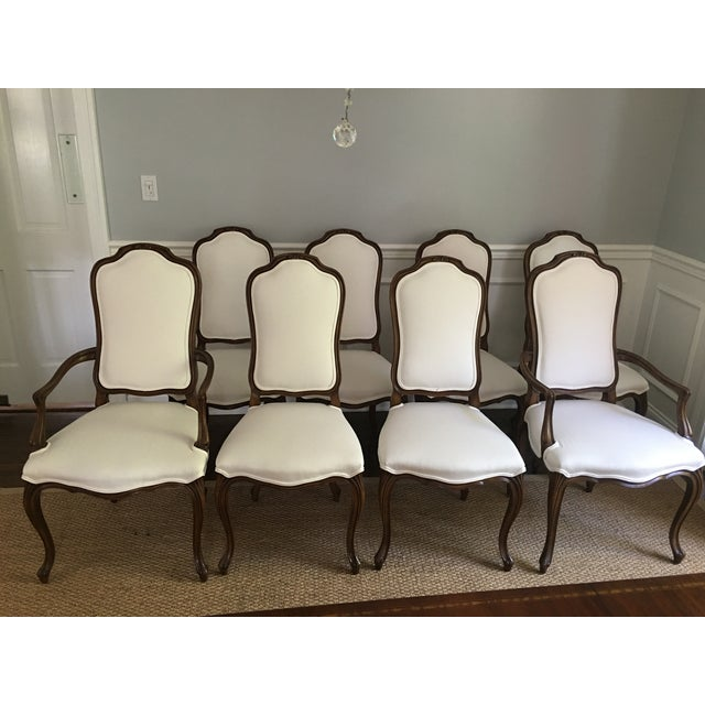 Image of Karges French Style Dining Room Chairs - Set of 8