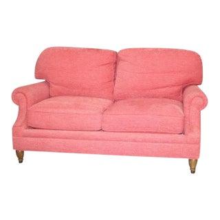 Custom Kravet Furniture Pink Loveseat