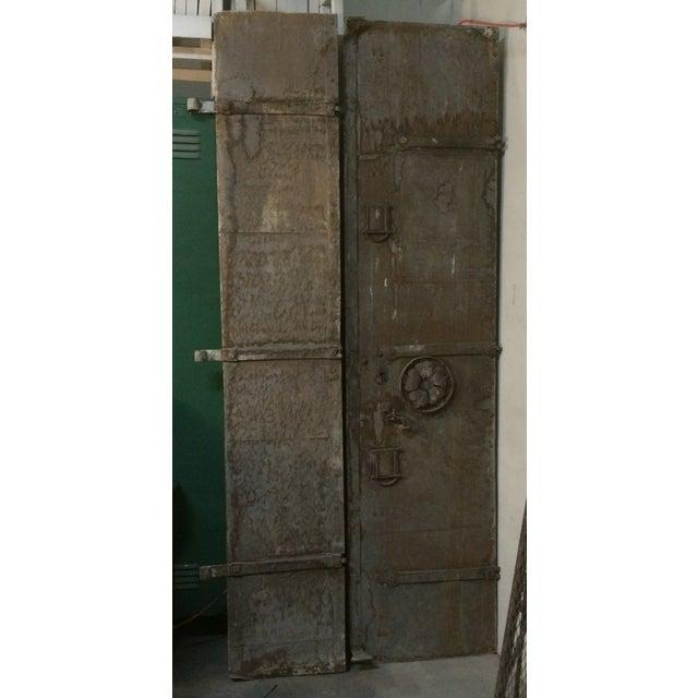 Industrial Metal Castle Door - Image 2 of 10