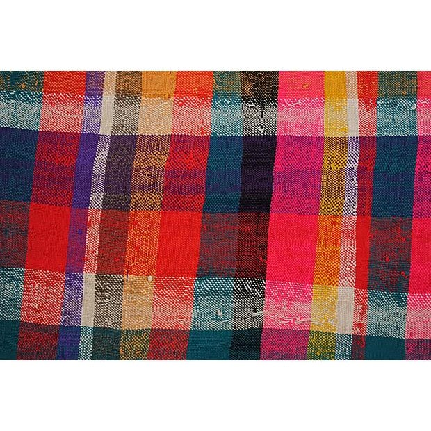Moroccan Striped Blanket - Image 2 of 7