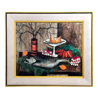 "Michel Guy-Nochet 1969 ""Still Life With Fish"""