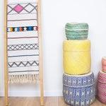 Image of Green Handmade Oaxacan Jarrito Basket