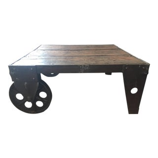 Mining Cart Coffee Table