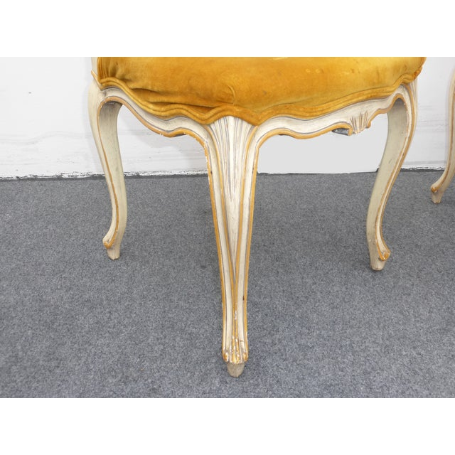Vintage Karges Louis XV Style Cane Back Chairs - Image 10 of 11