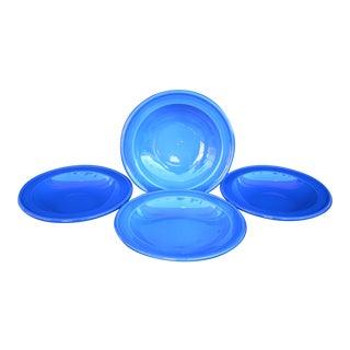 Emile Henry Blue Soup Bowls - Set of 4