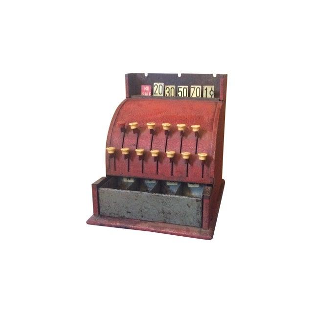 Image of Metal Toy Cash Register