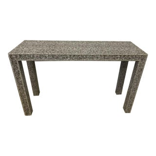 Faux Python Parsons Console Table With Naiheads