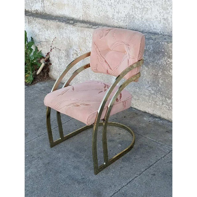 Vintage Milo Baughman Chairs- Set of 4 - Image 4 of 6