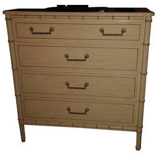 Henry Link Faux-Bamboo 4 Drawer Chest