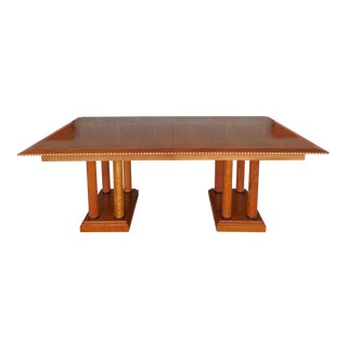 Councill Craftsmen Biedermeier Style Dining Extension Table