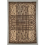 """Image of Vintage Double Sided Swedish Rollakan Carpet - 4'1"""" X 6'3"""""""