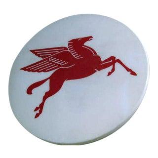 Mobil Oil Gas Pegasus Sign