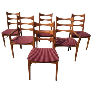 Mid-Century Lane Chairs - Set of 6