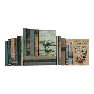 Midcentury Nautical Books - Set of 20