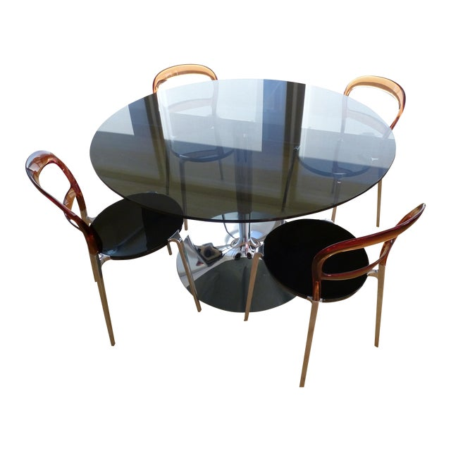 Calligaris Planet Table & Wien Chairs - Image 1 of 3