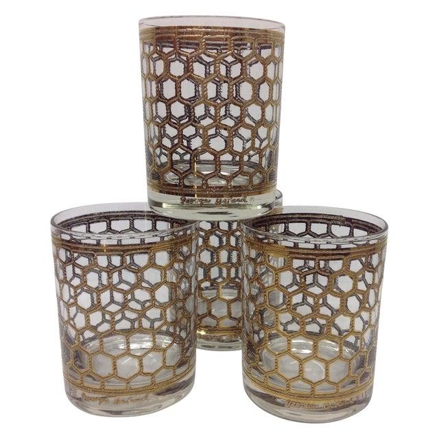 Georges Briard Mid-Century Glasses - Set of 4 - Image 1 of 5