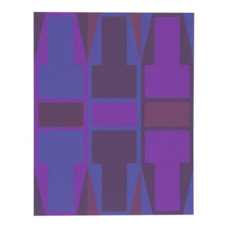 'T Series (Purple)' Serigraph by Arthur Boden
