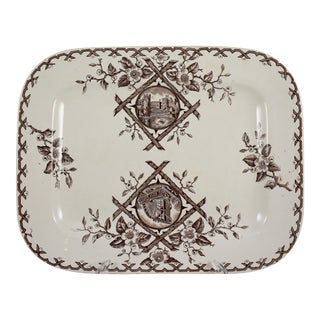 English Aesthetic Movement Japonesque Platter