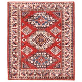 """Pasargad Kazak Wool Rug - 4' 11"""" X 5' 11"""""""