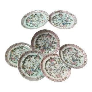Calyx Ware English Ironstone Plates - Set of 6